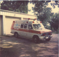 One of our original ambulances